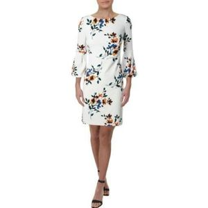 Ralph Lauren Floral Bell Sleeve Dress